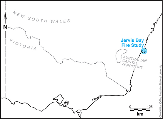 The majority of sites are located within Booderee National Park within the Jervis Bay Territory.