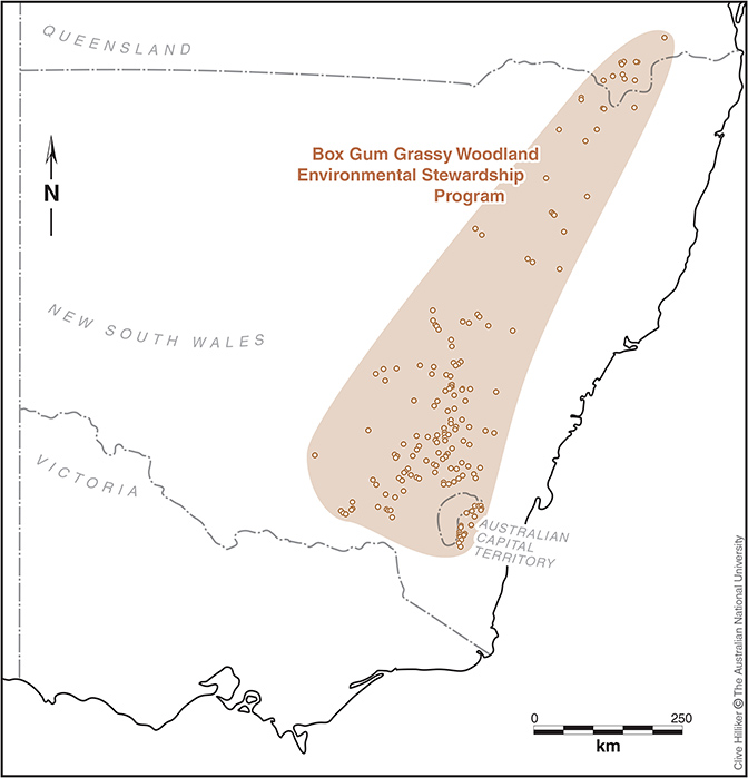 Sites range from Narranderra in southern NSW through to Warwick in southern QLD