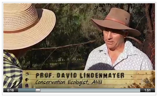 David Lindenmayer explains the benefits of biodiversity on ABC's Gardening Australia, 16 November 2013