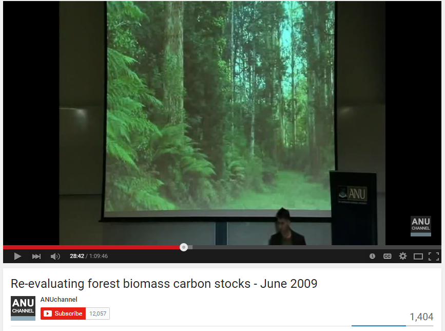 David Lindenmayer on the contribution of long term monitoring to understand ecosystem dynamics, June 2009