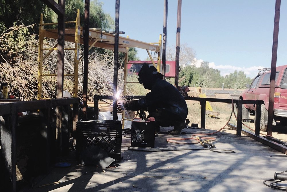 Finally welding on my own!