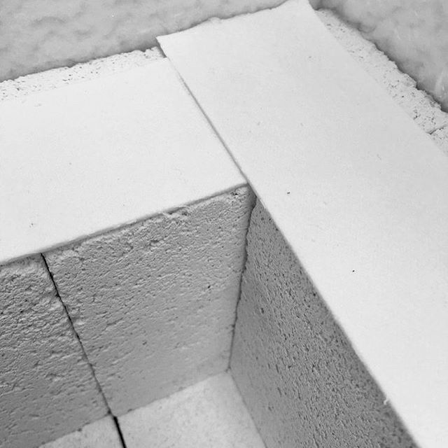 Going into this kiln build I would have been so sure traditional mortar was the only way of bricklaying. Really it was as simple ceramic tape. - . Built the way I seem to live. Flexible, able to tear down and build again. My little Phoenix. - . . . #kilnbuilding #mortar #building #industrialdesign #academybuilding #brickandmortar #creativeprocess #thenativecreative #creativestudio #inmykiln #bricklaying #myhandsmaking #handcrafted #handmadewithlove #phoenix #makersmovement #ceramics #potterslife #makersandshakers #womeninbusiness #creativewomen #creativesontherise #creativepreneur #nothingisordinary #momentslikethese #fieldnotes #gaskiln #kiln #pottery