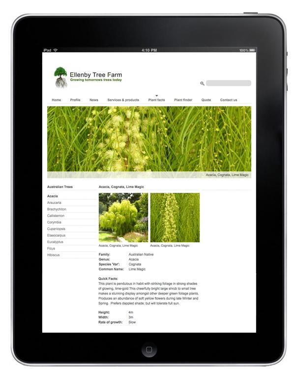 Ellenby tree farm-website-nomad creative-perth