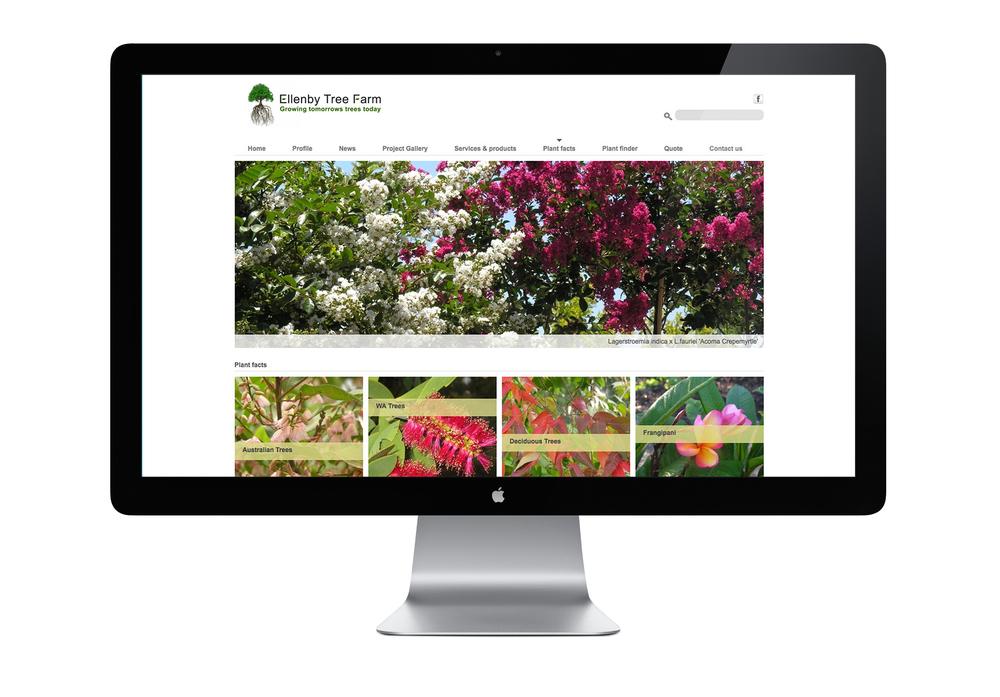 Ellenby tree farm website