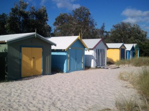 Beach sheds Mornington Peninsula