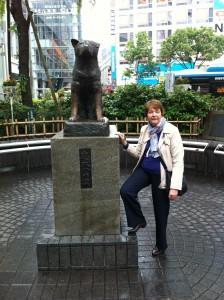 Hachiko monument, Shibuyu