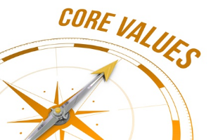 What are you core values?