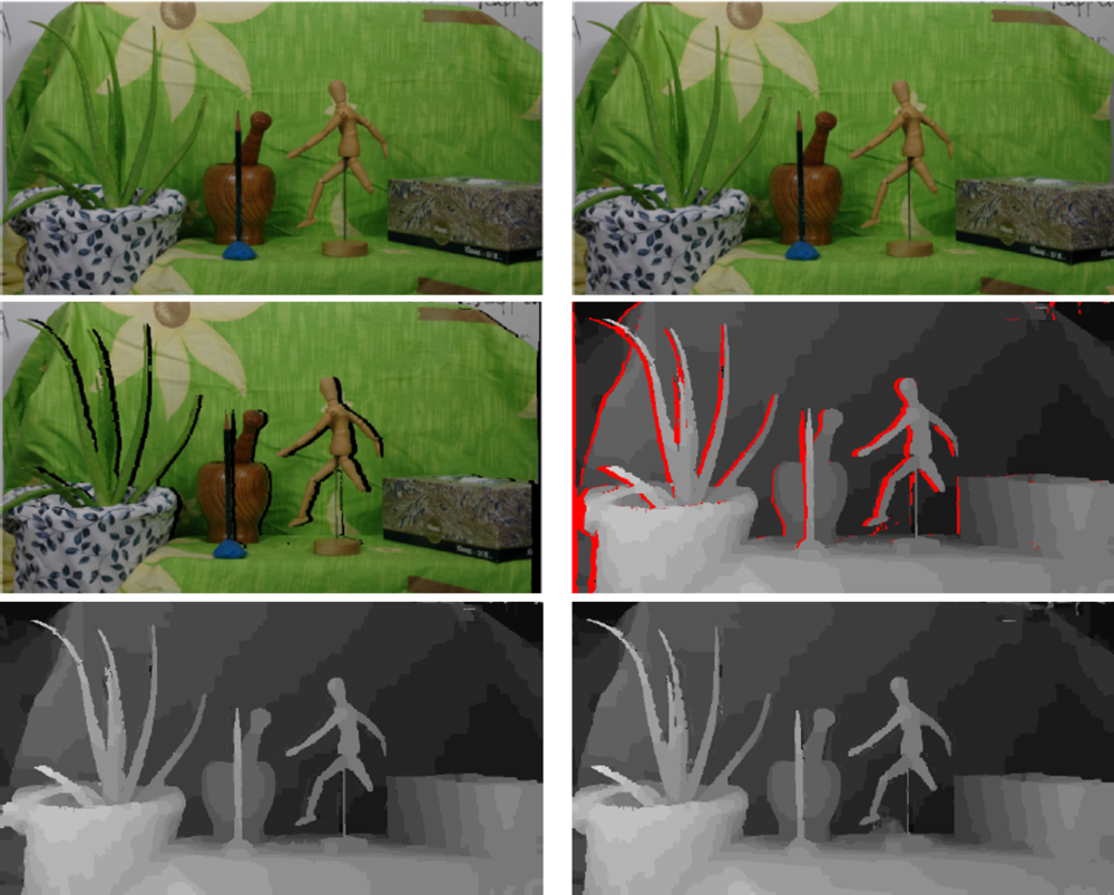 Symmetric stereo matching for occlusion handling