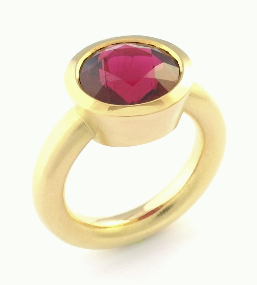 Peter's rubelite tourmaline and gold ring.JPG