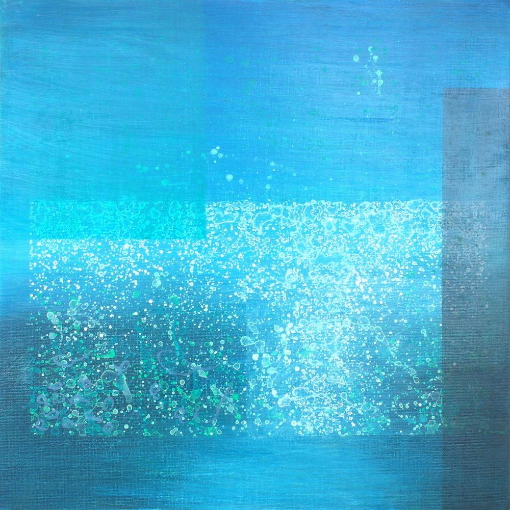 'Wet Elements' 30 cm W x 30 cm H $230,-