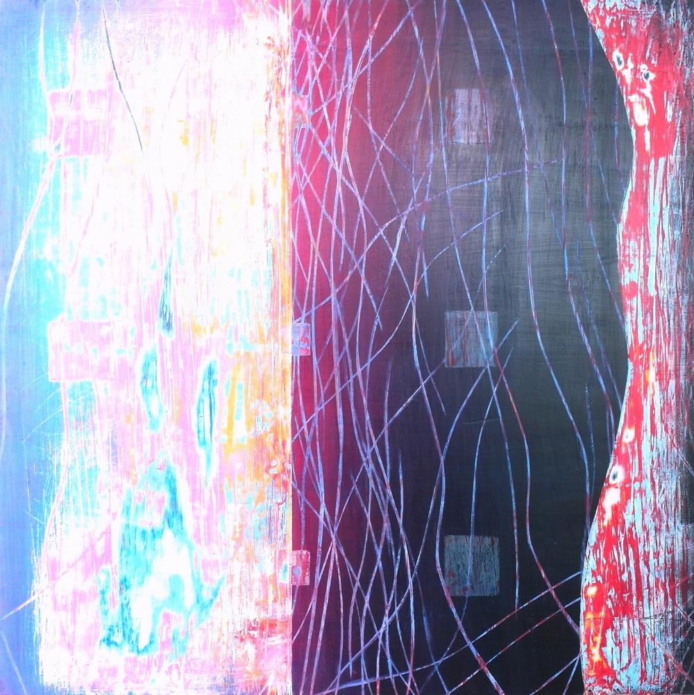 'Flow(ing)' 35 cm W x 35 cm H $550,-