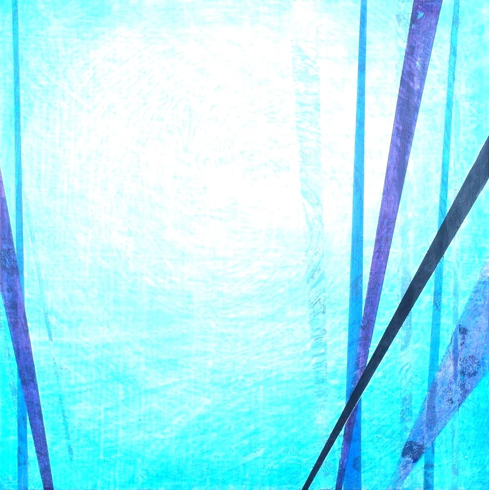 'Swirl' 30 cm W x 30 cm H $̶3̶8̶0̶,- Sold
