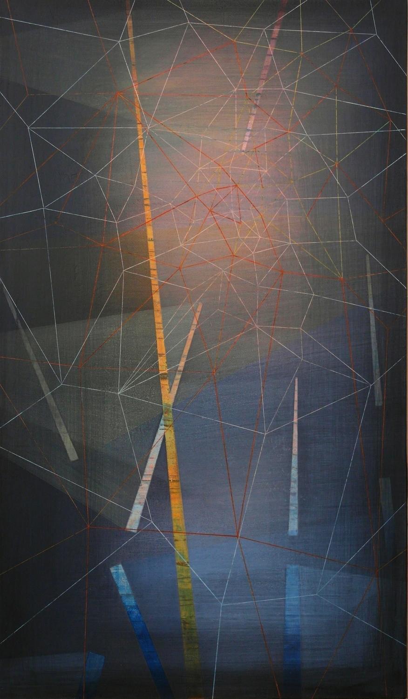 'moonlit IV' 35 cm W x 60 cm H$̶7̶5̶0̶,̶-̶ SOLD