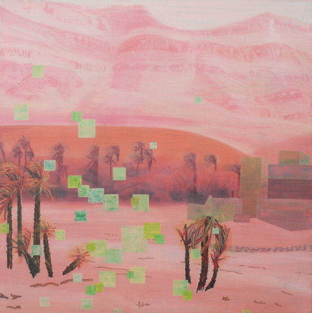 'Exterior View IV, Nekob' 55 cm W x 55 cm H $950,-