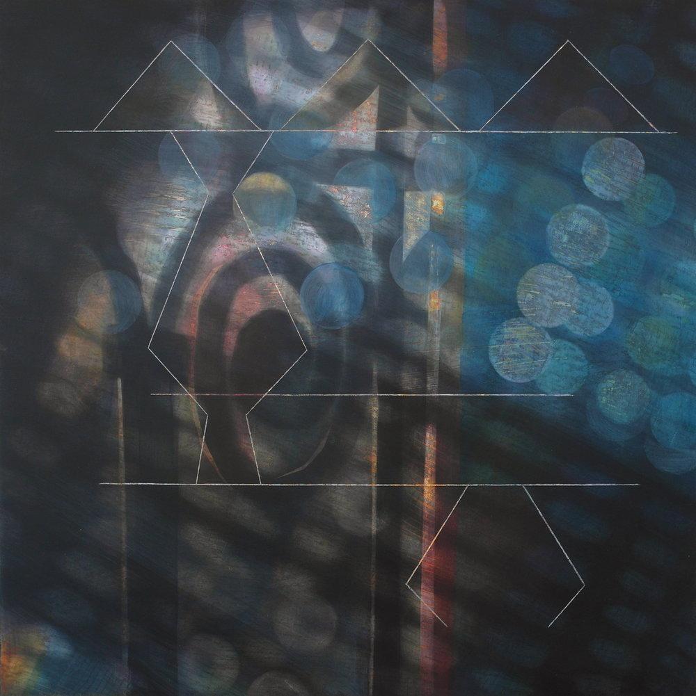 'Interior View I, Skoura' 55 cm W x 55 cm H $1,800,-