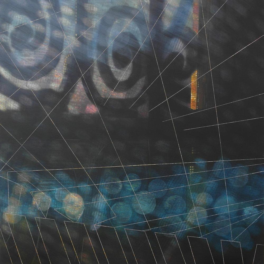 'Interior View II, Skoura' 55 cm W x 55 cm H $1,800,-