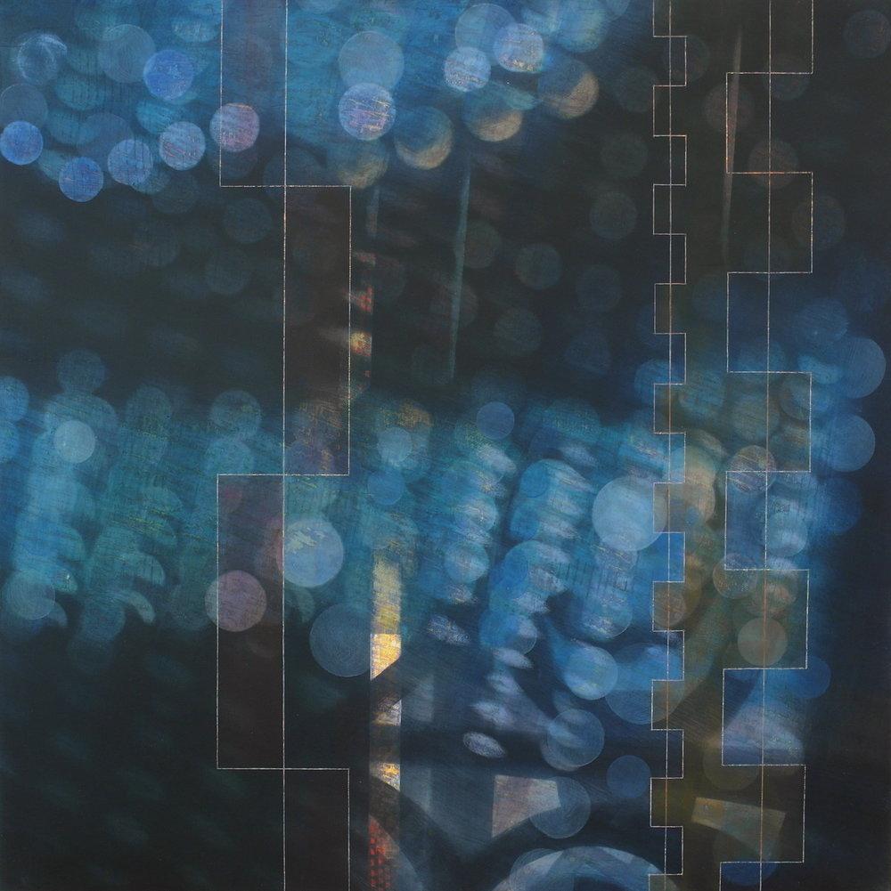 'Interior View IV, Skoura' 55 cm W x 55 cm H $1,800,-