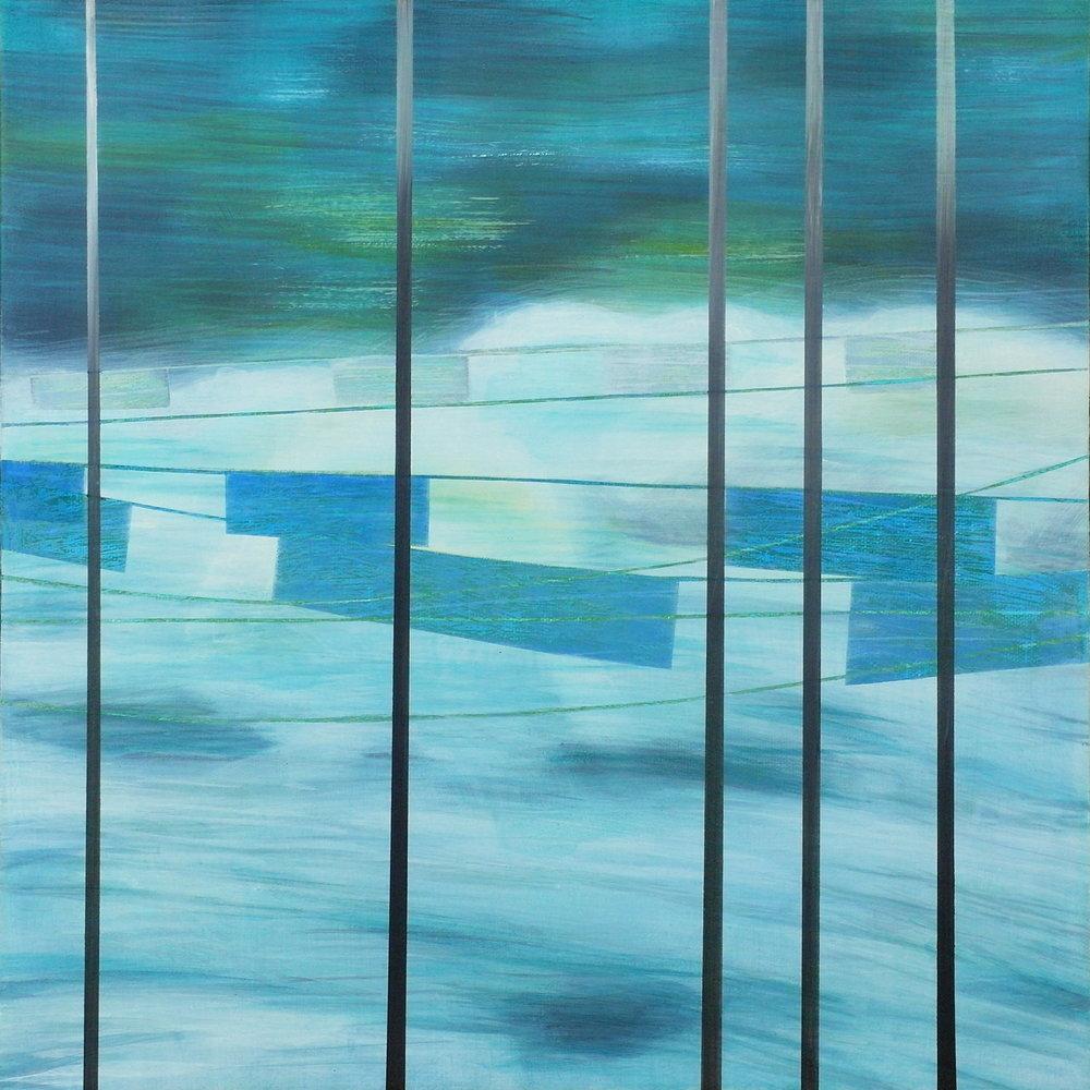 'Frozen Stride II' 33 cm W x 33 cm H $550,-
