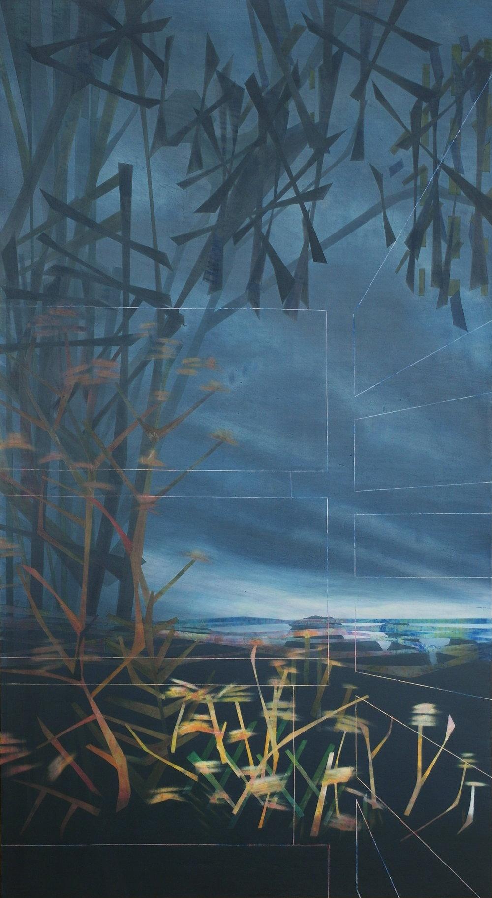 'Early Morning at Maringa II' 55 cm W x 100 cm H $2,850