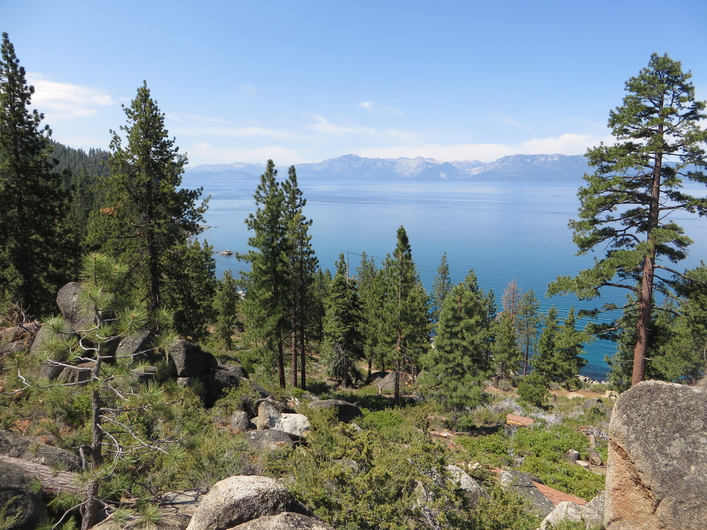 View of Lake Tahoe Near Cave Rock, Nevada
