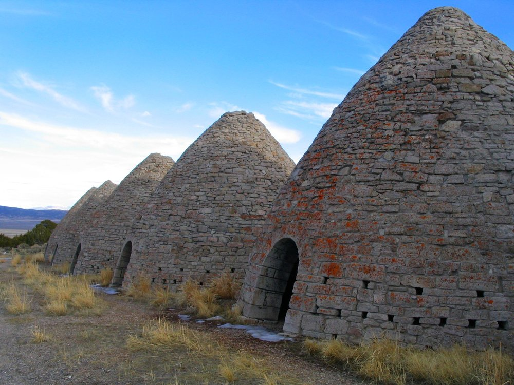 Ward Charcoal Ovens State Historic Park Near Ely, Nevada