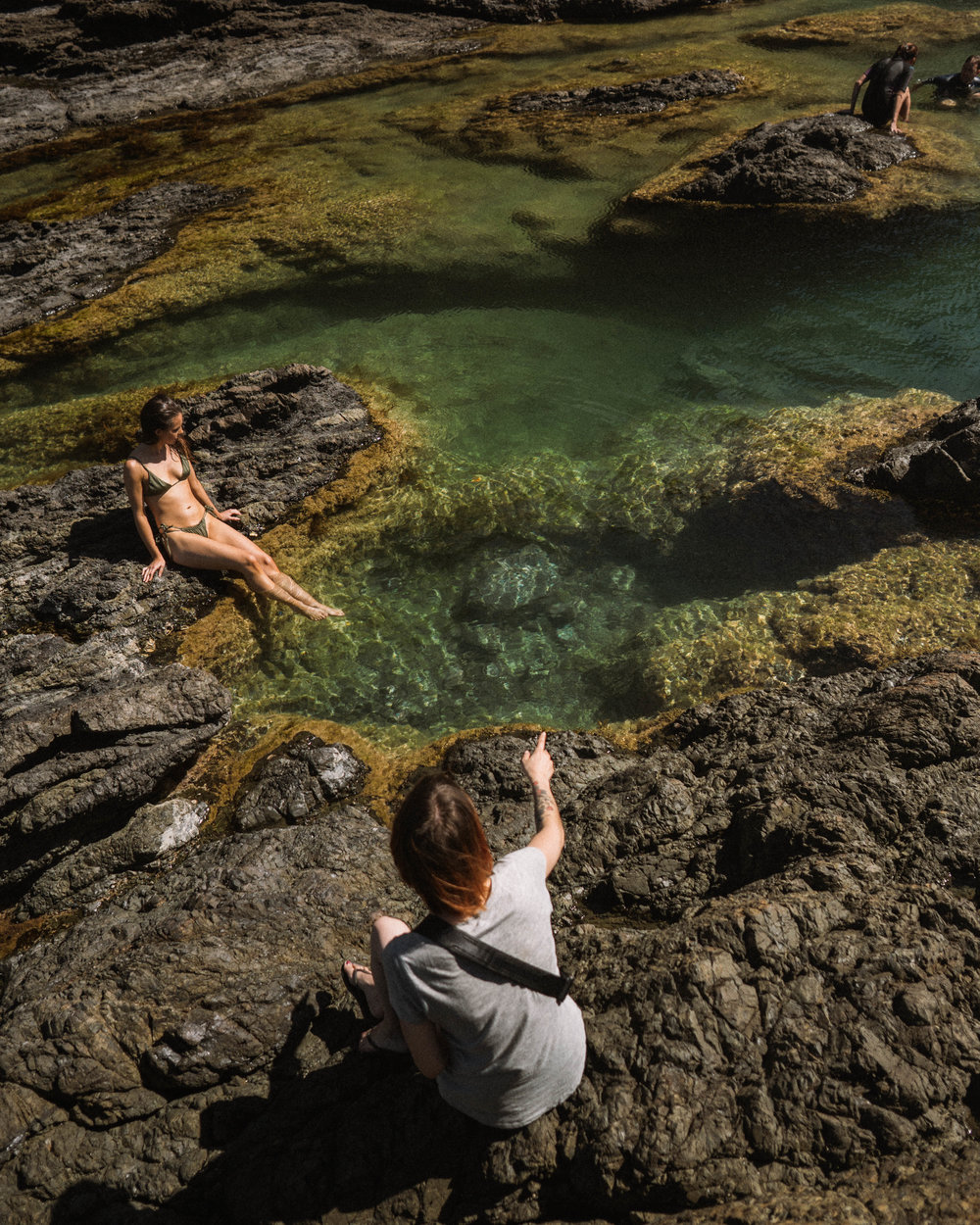 Mermaid Pools, Matapouri Beach
