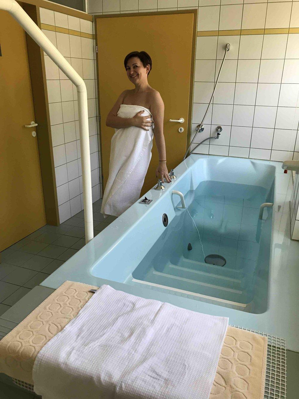 Heilendes - Radonwasserbad