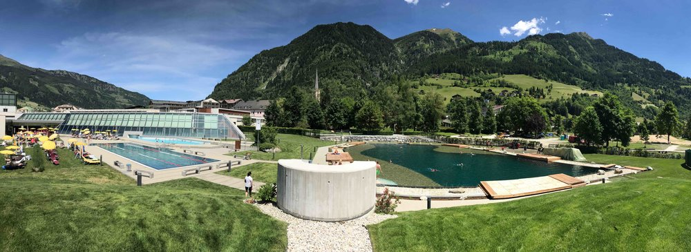 Aussenbereich Alpentherme