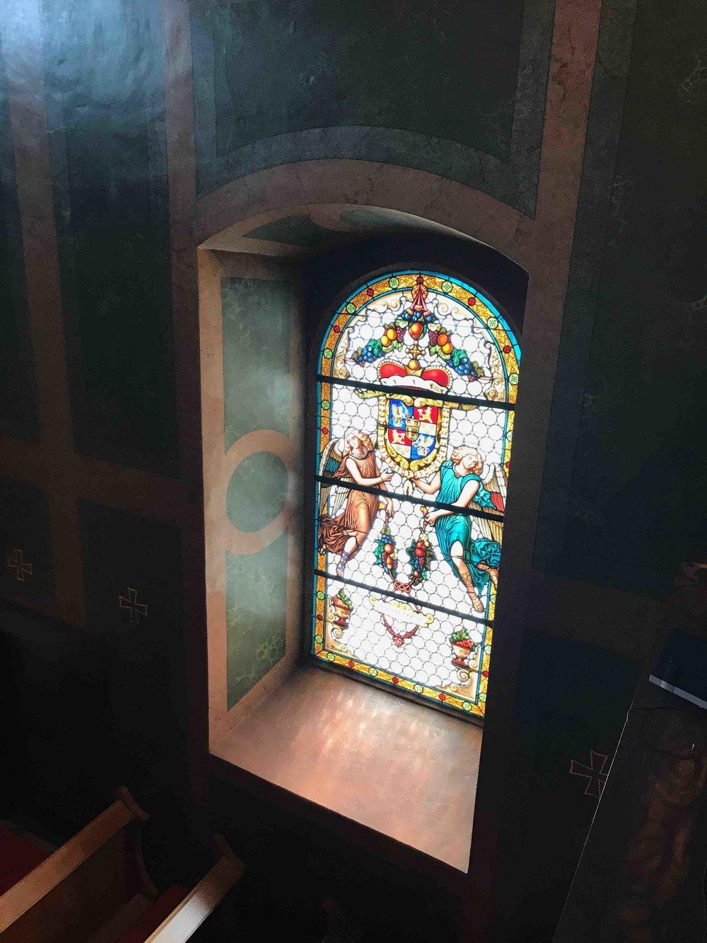 #SchlossForchtenstein #esterhazy #kapelle.jpg