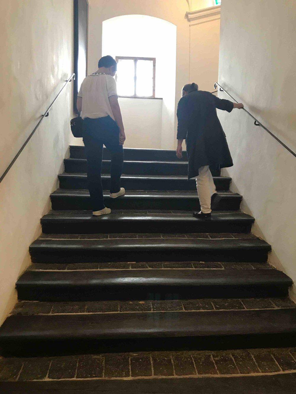 #SchlossForchtenstein #esterhazy #treppe.jpg