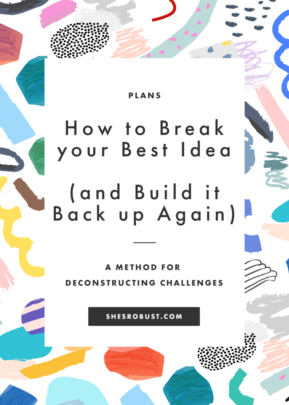 A method for building a better design challenge...and bagels