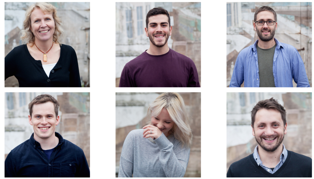 Skylark media team headshots