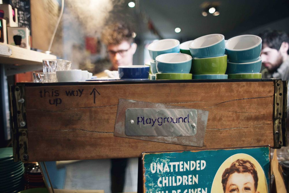 Professional Brand Photography in Bristol for Playground Coffee House by Visuable
