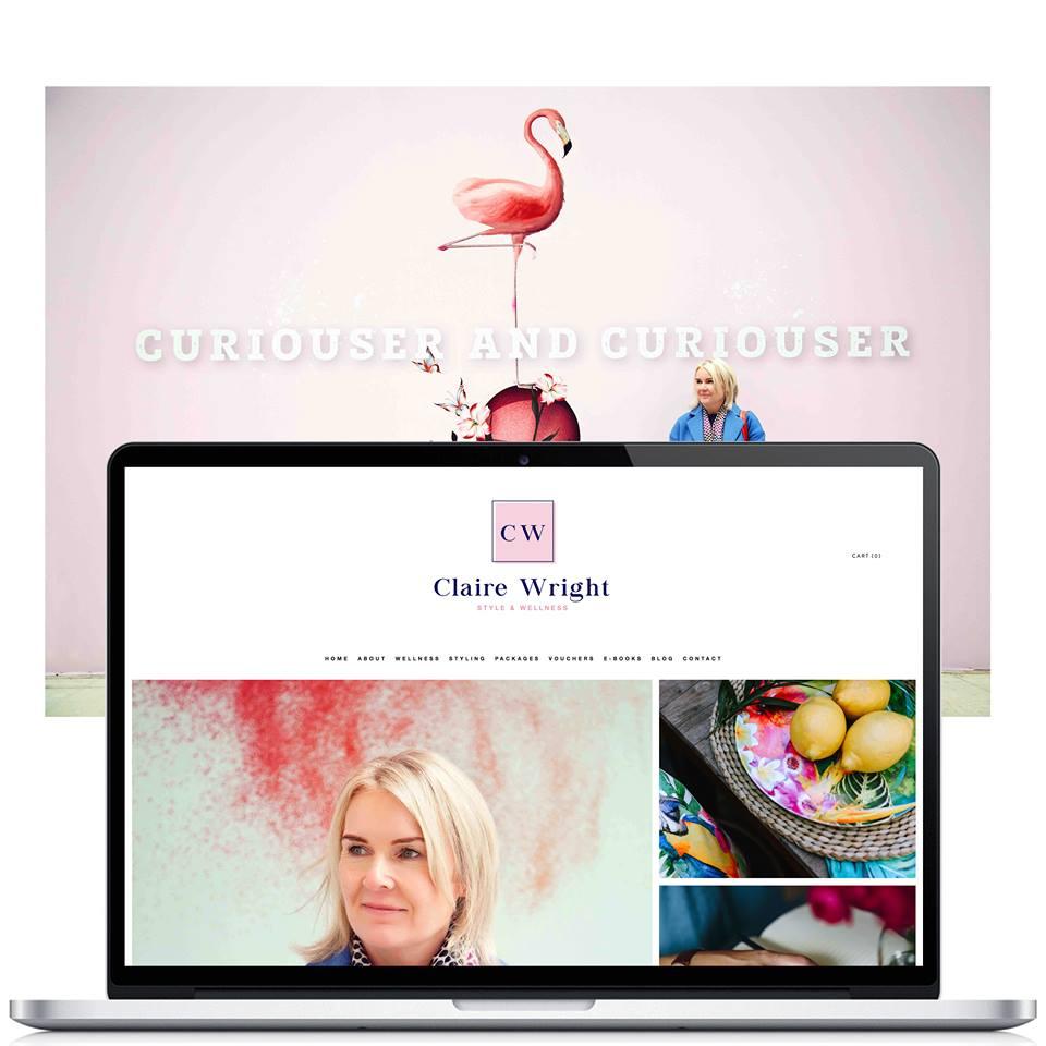 example of website design