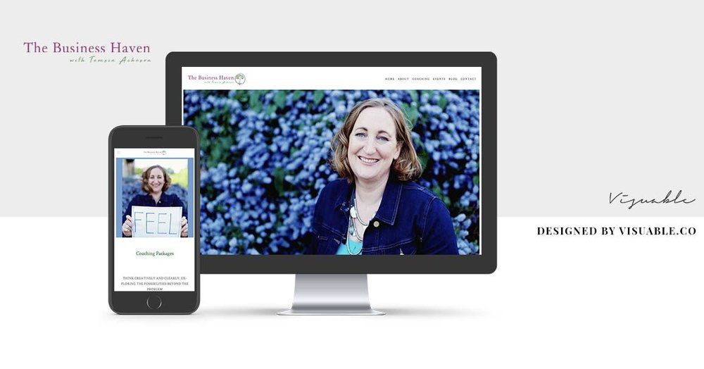 Web Design in Bristol for the Business Haven by Visuable