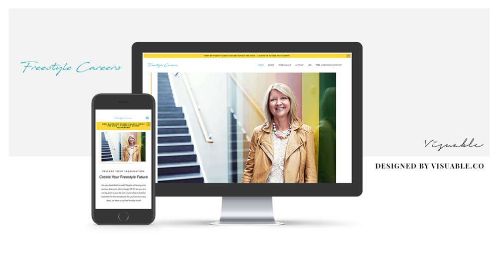 Web Design in Bristol for Freestyle Careers by Visuable
