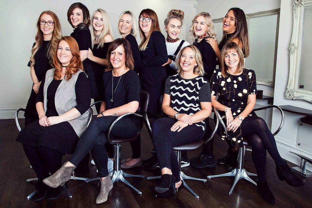 Professional Brand Photography in Bristol for Tonic Hair and Beauty by Visuable