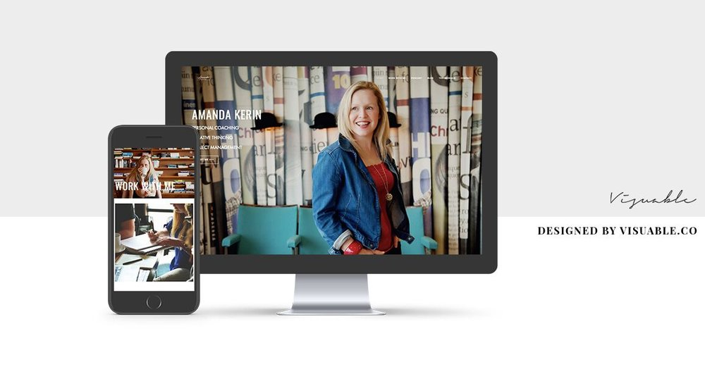 Squarespace Web Design in Bristol by Visuable