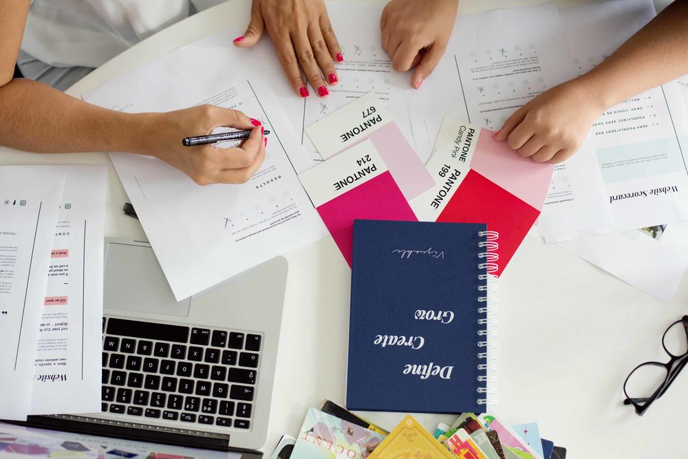 Each session consists of 3 elements: - Prep-work:An assignment to work on in the weeks coming up to our session.90-min Brand Sprint Session:1:1 session working on the specific area of your brand.Written Report:A written report containing everything that we've developed.