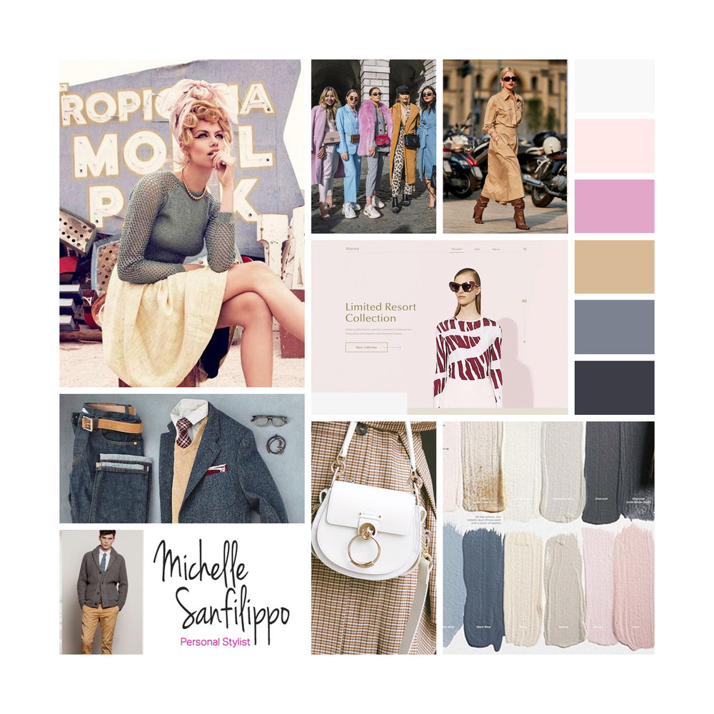 moodboard designed by Visuable