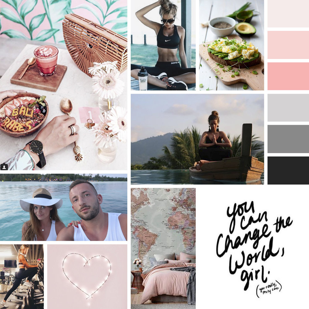 Personal Brand for a Fitness Trainer and Nutritionist