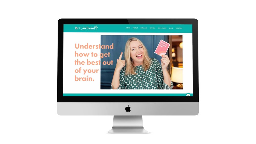 designing a website for personal brand