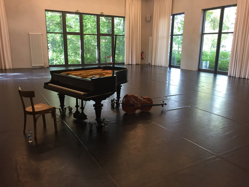 Rehearsals at Eden