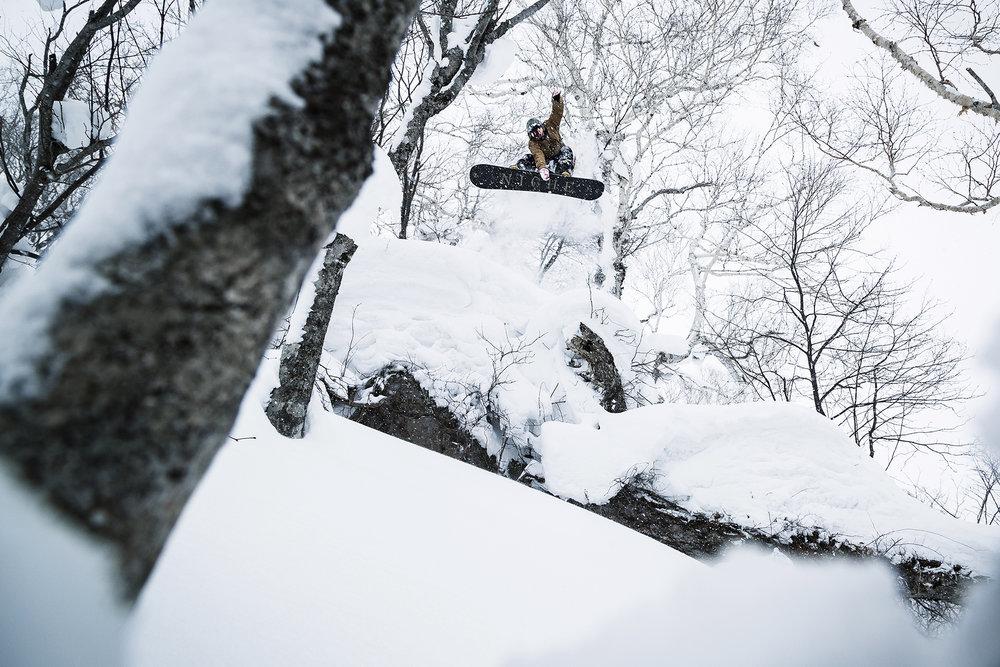 Sean Macphee in Hokkaido, Japan