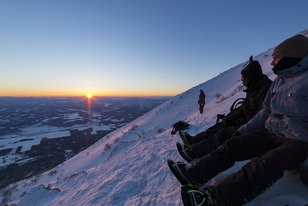 Sunrise on Mt Yotei