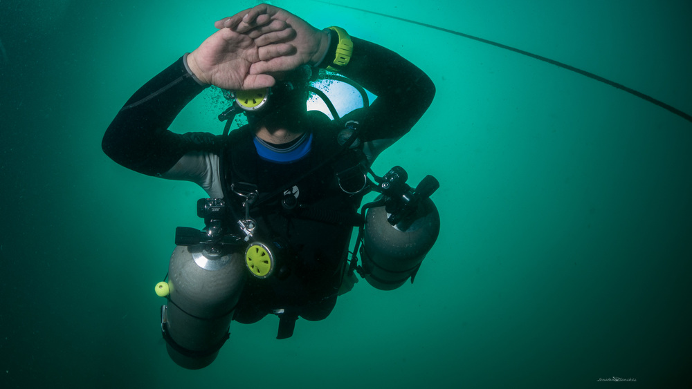 Jonatan sanchez sidemount diving
