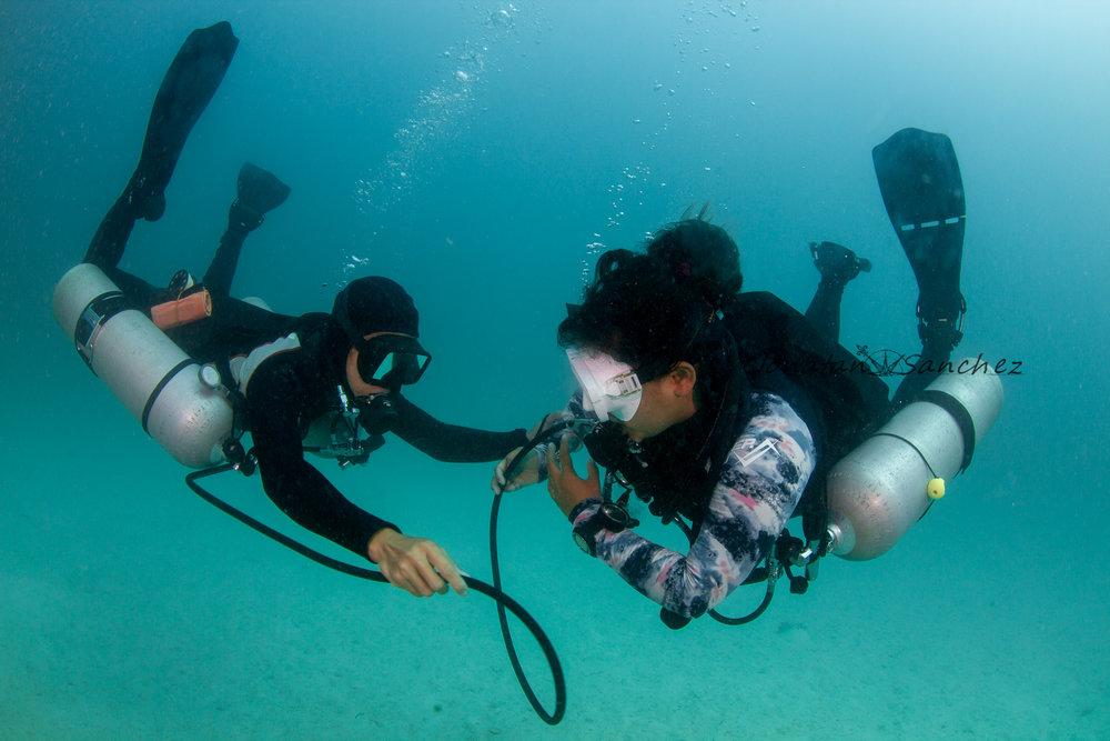 Jonatan Sanchez Cave Diver