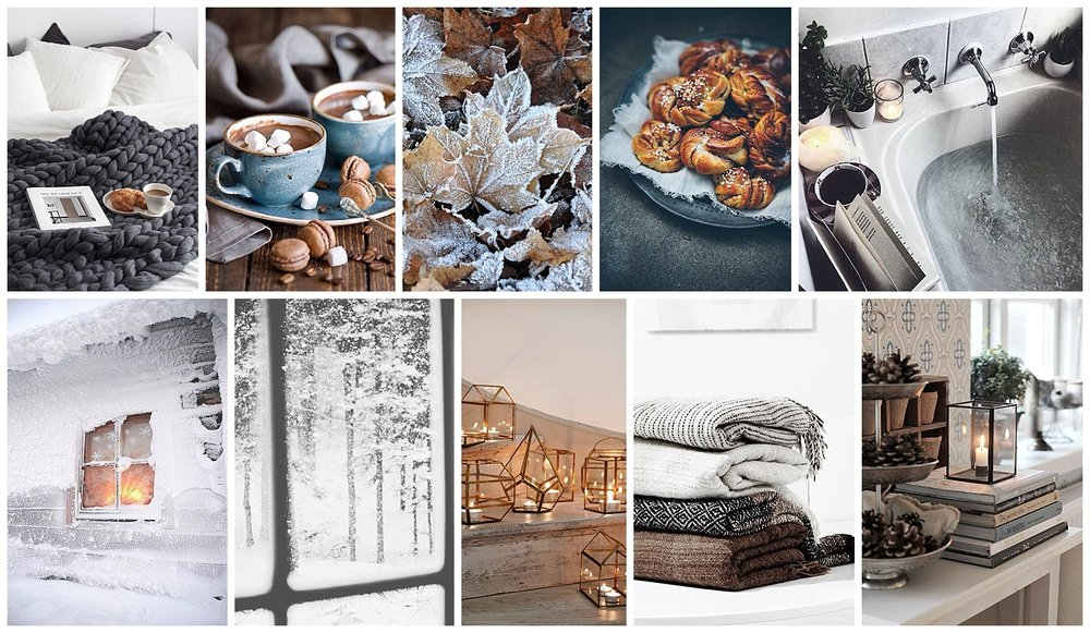 All pictures sourced through Pinterest. Follow my hygge inspired board