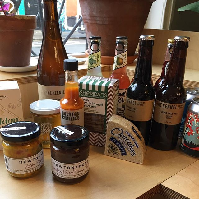 Our mainly LONDON lineup, loads more in store #shoplocal  @newtonandpott @thekernelbrewery @howlinghops @dalstonchillies @squarerootldn @london_honey_co