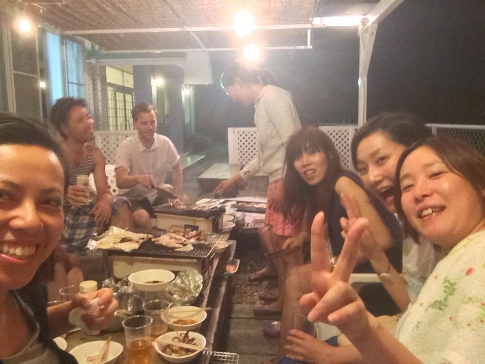 BBQ times in Tsunoshima